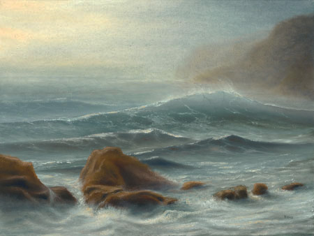 The Next Big Wave oil painting