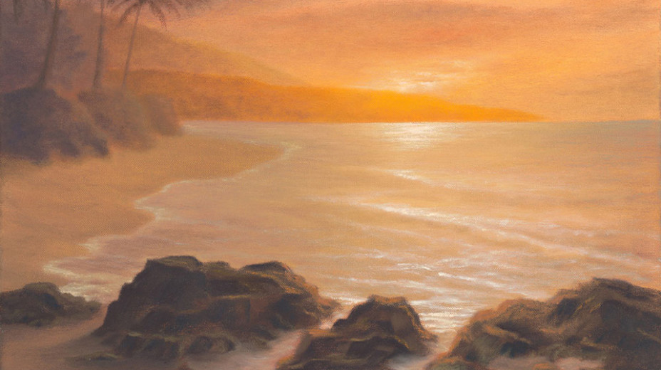 Ka'anapali Beach  /  Oil on Canvas  /  16x20