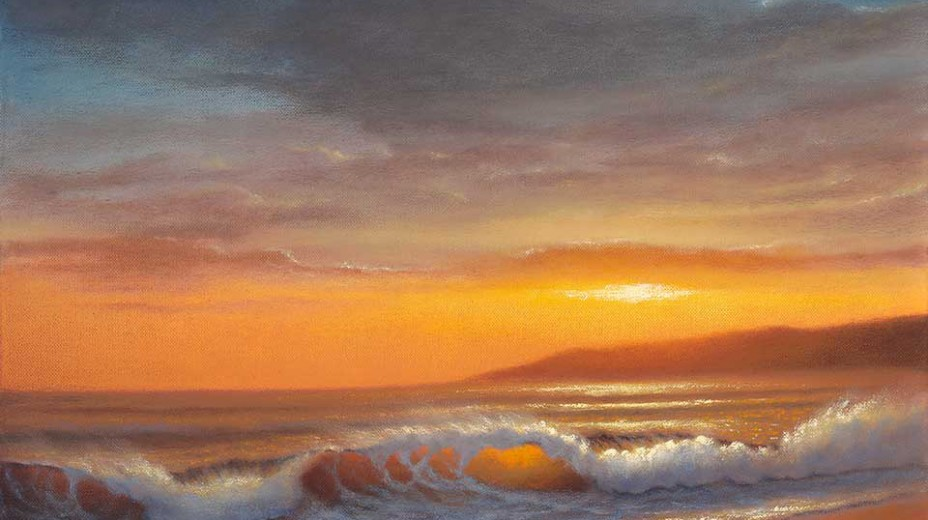 Sugar Beach, Kihei Maui /  Oil on Canvas  /  16x20