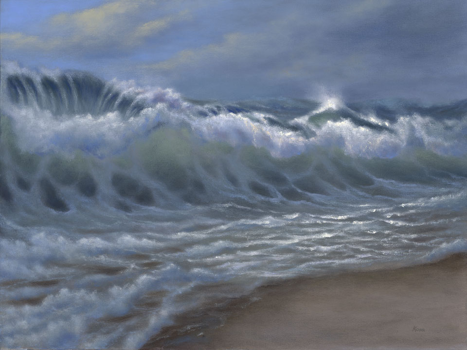 Shorebreak  /  Oil on Canvas  /  18x24