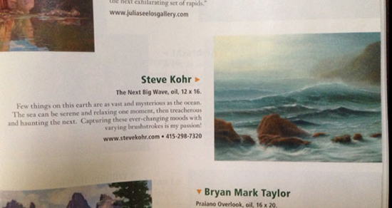 The Next Big Wave in Southwest Art magazine