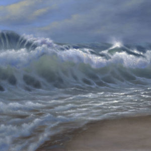 Shorebreak 18x24 oil on canvas painting by Steve Kohr Fine Art