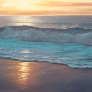 Evening Promise, 12x24 oil on canvas