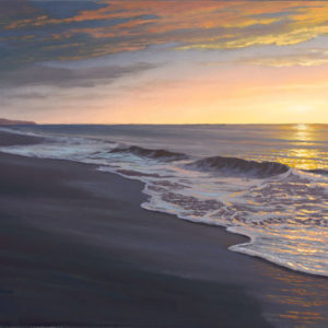 Tranquility in Polihale, 18x24 oil on canvas
